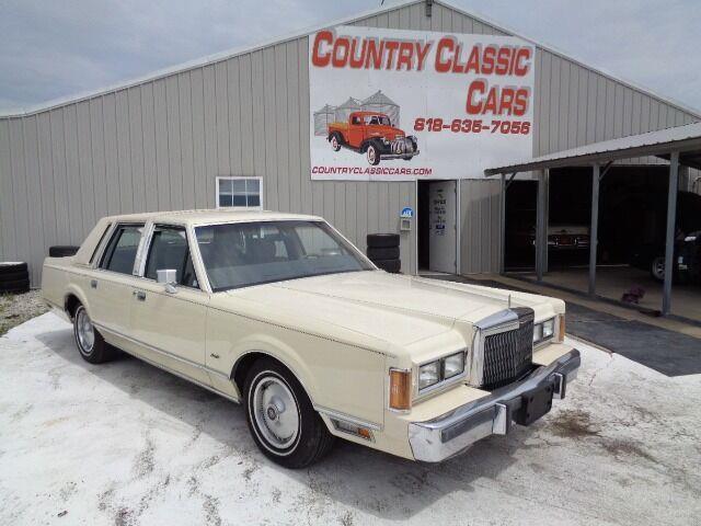 1989 Lincoln Town Car (CC-1479122) for sale in Staunton, Illinois