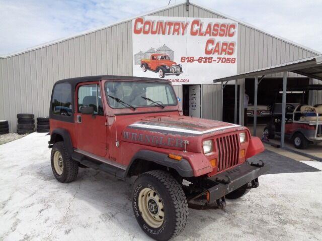 1987 Jeep Wrangler (CC-1479134) for sale in Staunton, Illinois
