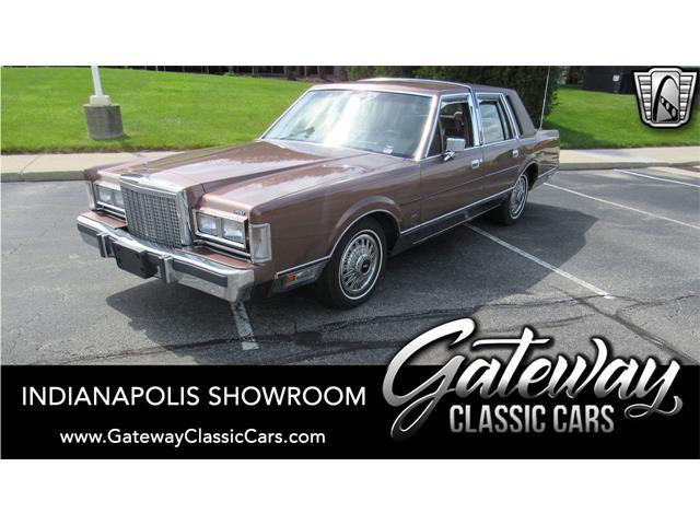 1987 Lincoln Town Car (CC-1479171) for sale in O'Fallon, Illinois