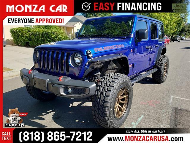 2020 Jeep Wrangler Rubicon (CC-1470919) for sale in Sherman Oaks, California