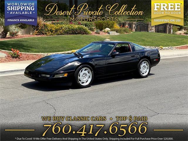 1991 Chevrolet Corvette (CC-1479222) for sale in Palm Desert , California