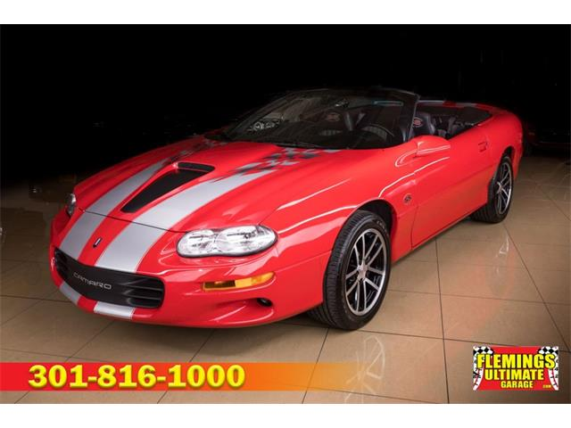 2002 Chevrolet Camaro (CC-1479430) for sale in Rockville, Maryland