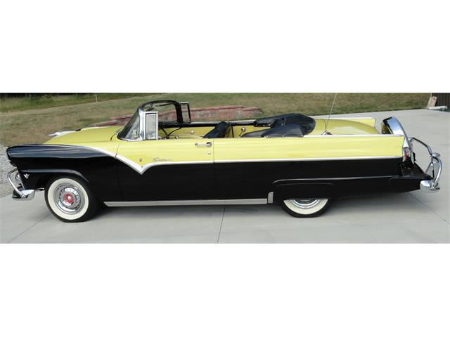 1955 Ford Fairlane Sunliner (CC-1479645) for sale in Wadsworth, Ohio