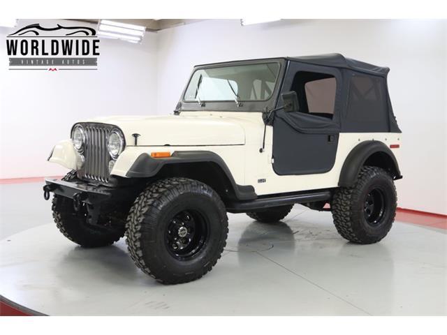 1976 Jeep CJ (CC-1479685) for sale in Denver , Colorado