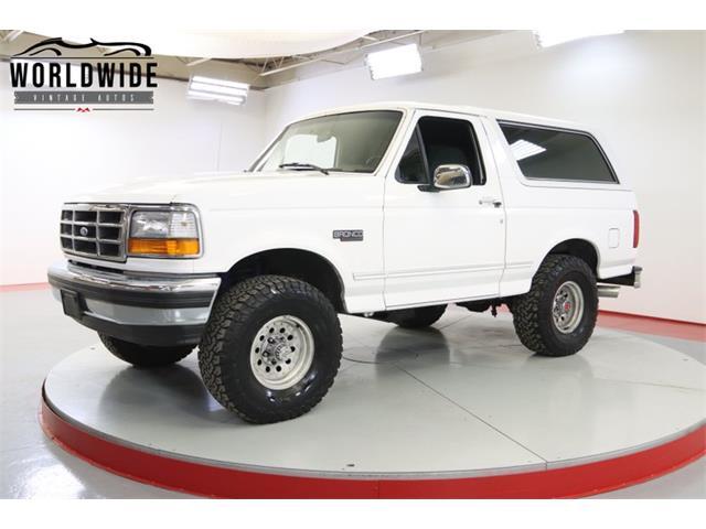 1993 Ford Bronco (CC-1479688) for sale in Denver , Colorado
