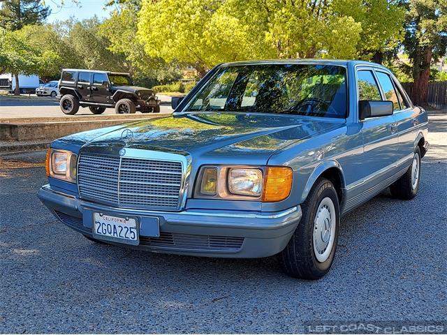 1985 Mercedes-Benz 380SE (CC-1479812) for sale in SONOMA, California