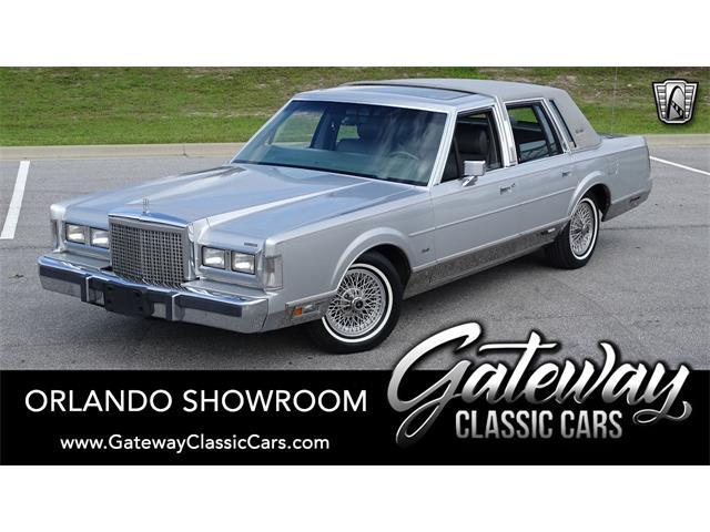 1986 Lincoln Town Car (CC-1481501) for sale in O'Fallon, Illinois