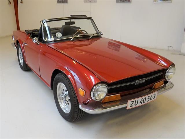 1970 Triumph TR6 (CC-1482002) for sale in Langeskov,  Denmark, Denmark