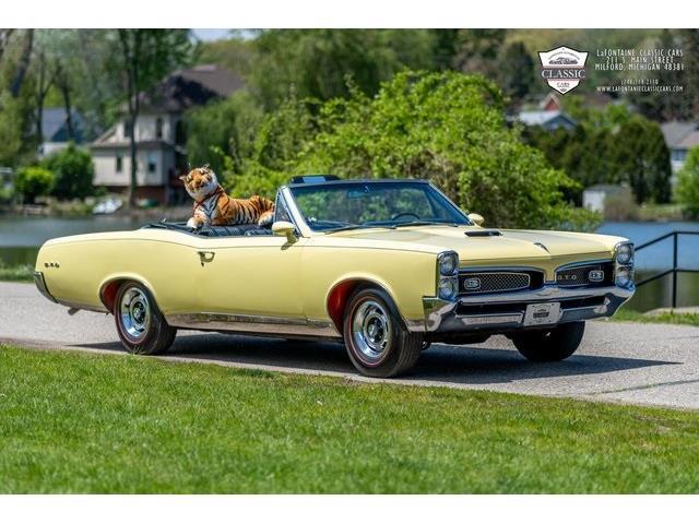1967 Pontiac GTO (CC-1482362) for sale in Milford, Michigan
