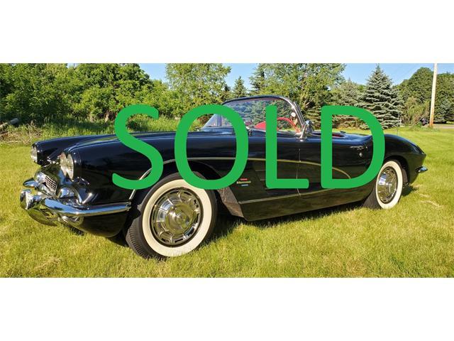 1961 Chevrolet Corvette (CC-1482415) for sale in Annandale, Minnesota