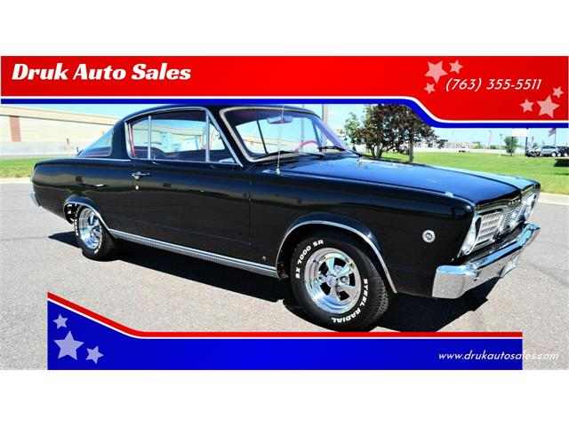 1966 Plymouth Barracuda (CC-1482451) for sale in Ramsey, Minnesota