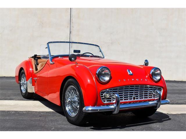 1963 Triumph TR3B (CC-1482609) for sale in Costa Mesa, California