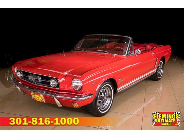 1965 Ford Mustang (CC-1482884) for sale in Rockville, Maryland