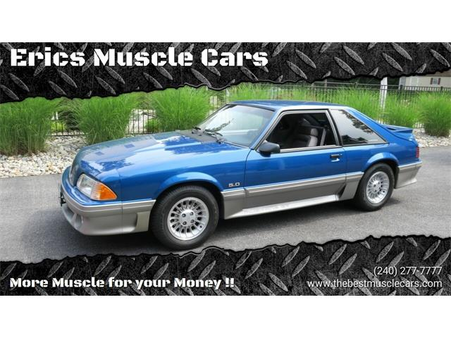 1990 Ford Mustang (CC-1482894) for sale in Clarksburg, Maryland