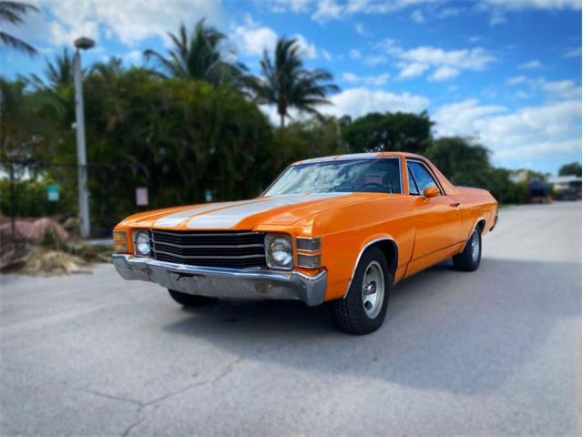 1972 Chevrolet El Camino (CC-1482907) for sale in Delray Beach, Florida