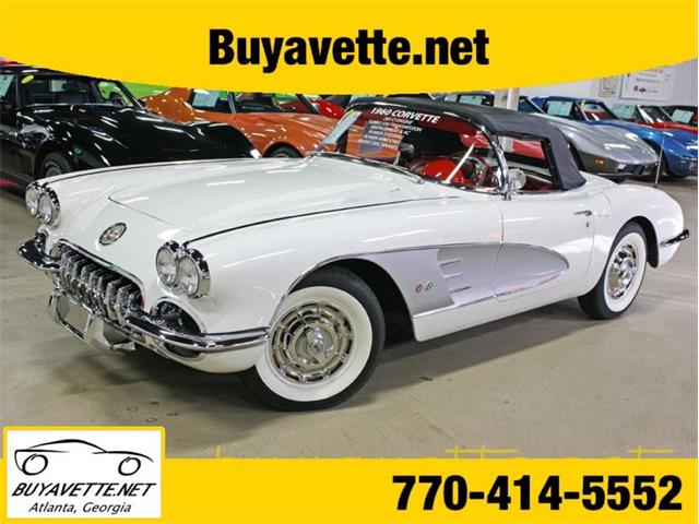 1960 Chevrolet Corvette (CC-1483212) for sale in Atlanta, Georgia