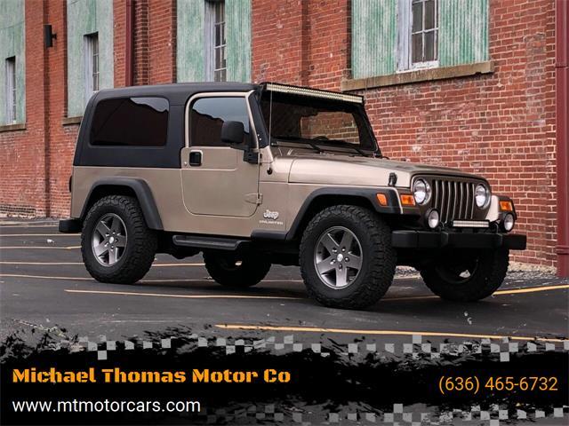 2004 Jeep Wrangler (CC-1483252) for sale in Saint Charles, Missouri