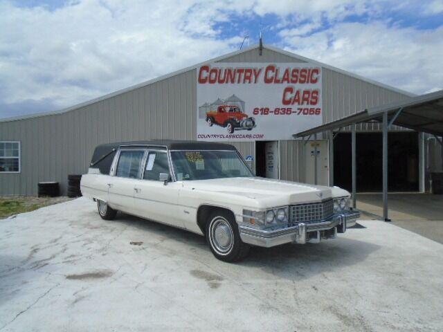 1974 Cadillac Hearse (CC-1483491) for sale in Staunton, Illinois