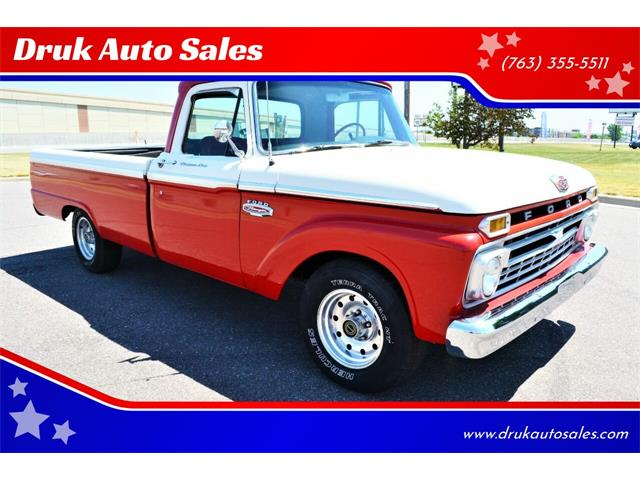 1966 Ford F100 (CC-1483610) for sale in Ramsey, Minnesota