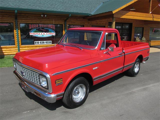 1972 Chevrolet Cheyenne (CC-1483710) for sale in Goodrich, Michigan