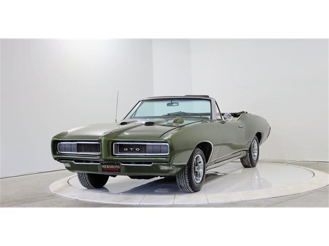 1968 Pontiac GTO (CC-1483796) for sale in Springfield, Ohio