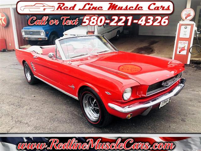 1966 Ford Mustang (CC-1483858) for sale in Wilson, Oklahoma