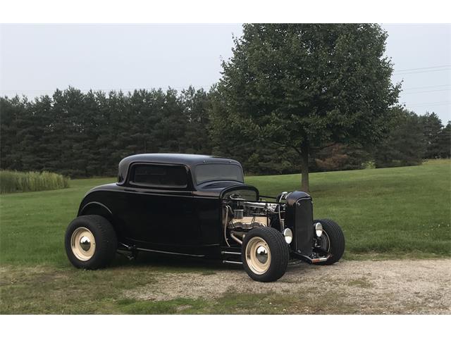 1932 Ford 3-Window Coupe (CC-1483937) for sale in Davison, Michigan