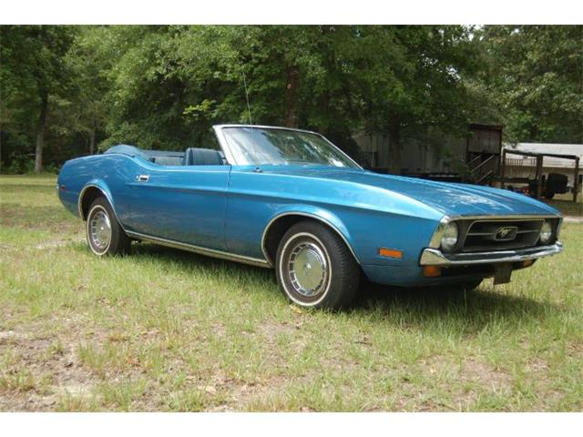 1972 Ford Mustang (CC-1483977) for sale in Cadillac, Michigan