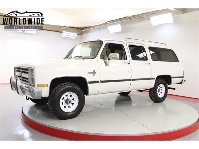 1987 Chevrolet Suburban (CC-1484143) for sale in Denver , Colorado