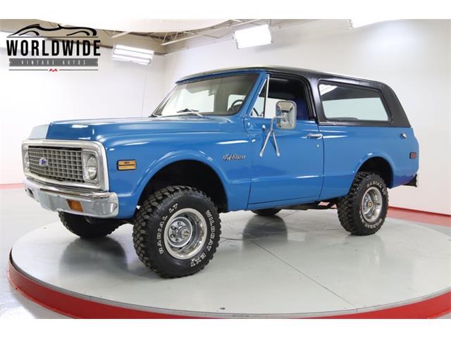 1971 Chevrolet Blazer (CC-1484151) for sale in Denver , Colorado