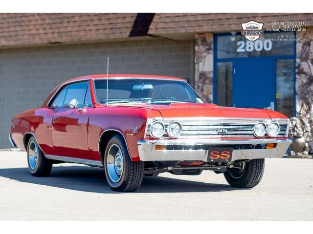 1967 Chevrolet SS (CC-1484177) for sale in Milford, Michigan