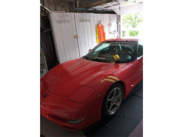 2002 Chevrolet Corvette (CC-1480430) for sale in Cadillac, Michigan