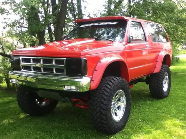 1991 Chevrolet S10 Blazer (CC-1484301) for sale in Tresckow, Pennsylvania