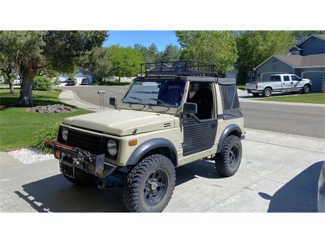 1986 Suzuki Samurai (CC-1480435) for sale in Cadillac, Michigan