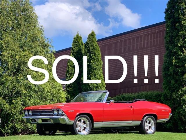 1969 Chevrolet Chevelle (CC-1480455) for sale in Geneva, Illinois