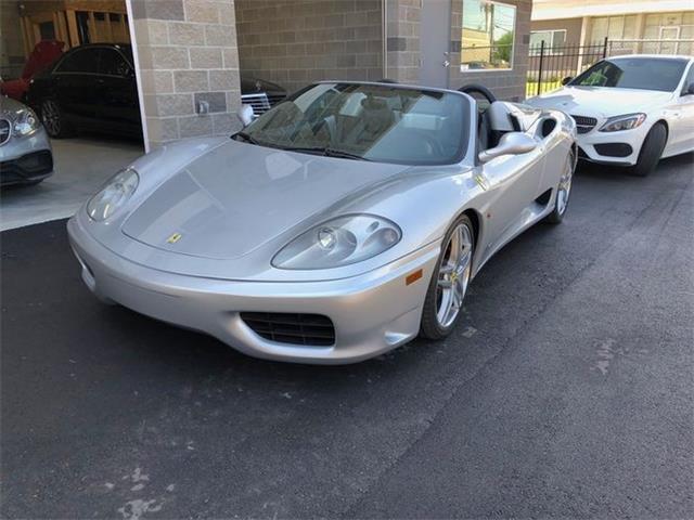 2002 Ferrari 360 Spider (CC-1484666) for sale in Cadillac, Michigan