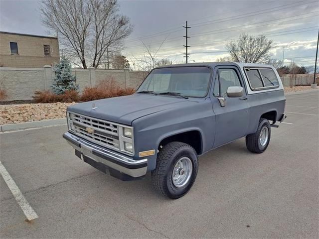 1985 Chevrolet Blazer (CC-1484785) for sale in Cadillac, Michigan