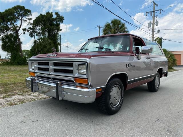 1989 Dodge Ramcharger (CC-1485002) for sale in Pompano Beach, Florida
