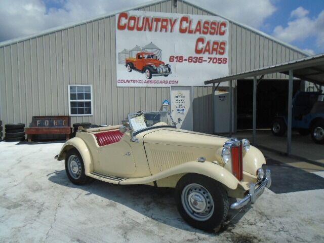 1952 MG TD (CC-1485196) for sale in Staunton, Illinois