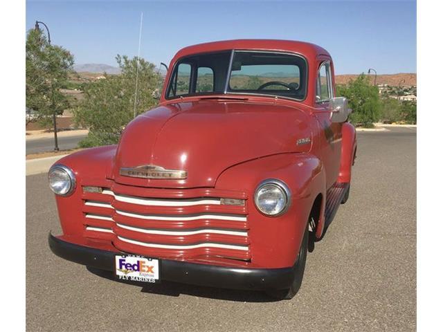1951 Chevrolet 3100 (CC-1485239) for sale in Cadillac, Michigan