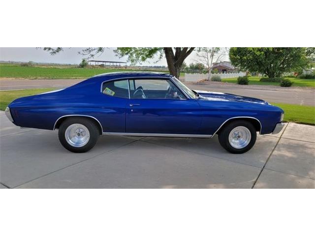 1972 Chevrolet Malibu (CC-1485248) for sale in Cadillac, Michigan
