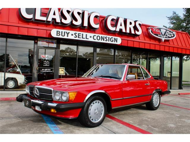 1988 Mercedes-Benz 560 (CC-1485269) for sale in Sarasota, Florida