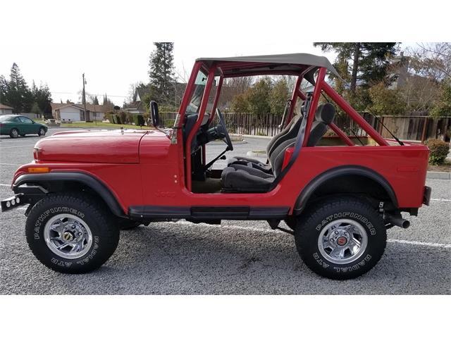 1976 Jeep CJ7 (CC-1485516) for sale in Ripon, California