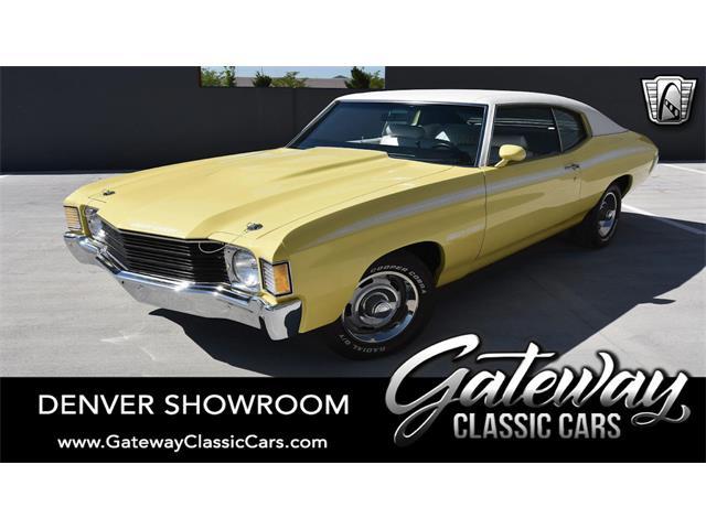 1972 Chevrolet Chevelle (CC-1485600) for sale in O'Fallon, Illinois