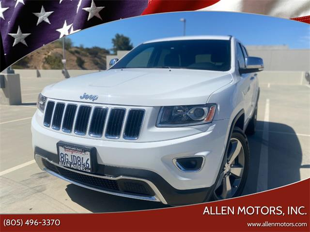 2014 Jeep Grand Cherokee (CC-1485692) for sale in Thousand Oaks, California