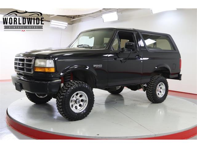 1992 Ford Bronco (CC-1486297) for sale in Denver , Colorado