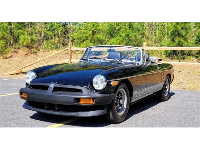 1980 MG MGB (CC-1486386) for sale in Mundelein, Illinois