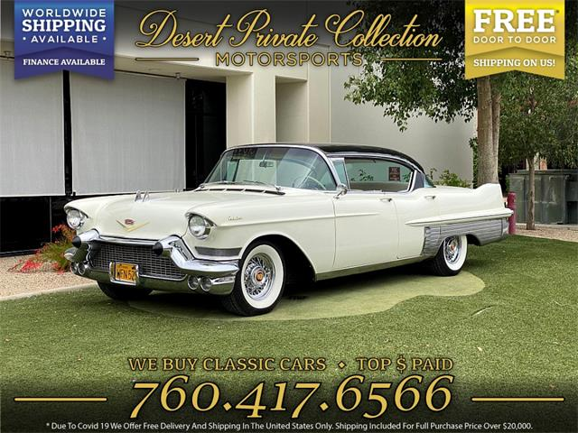 1957 Cadillac Fleetwood (CC-1486424) for sale in Palm Desert , California