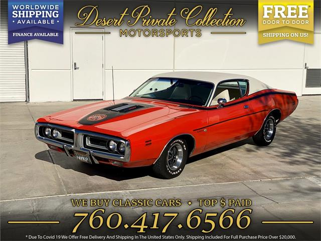 1971 Dodge Charger (CC-1486425) for sale in Palm Desert , California