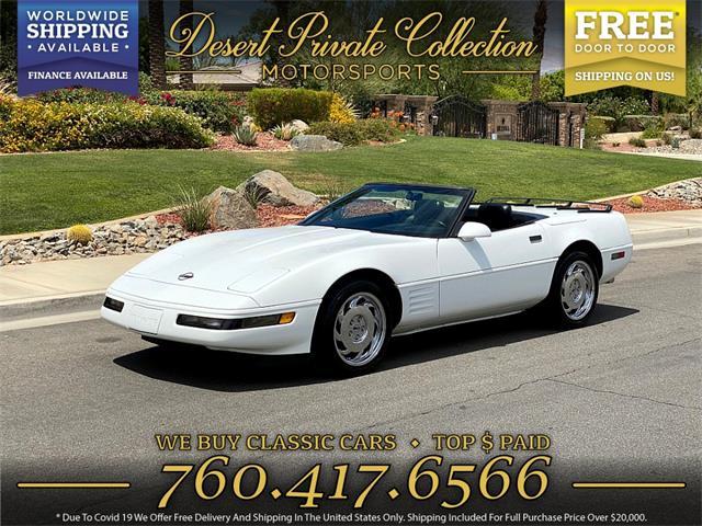1991 Chevrolet Corvette (CC-1486433) for sale in Palm Desert , California